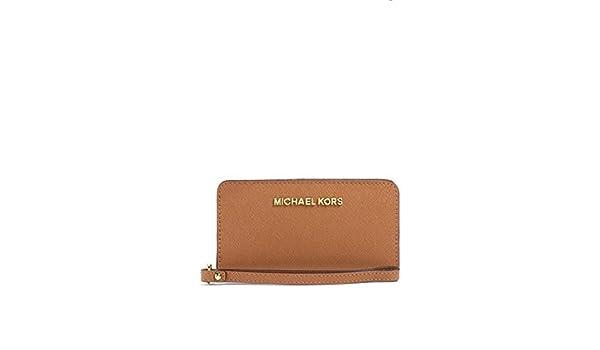 99eb5c5425 Amazon.com: Michael Kors Jet Set Large Coin Multi Function Phone Case  Luggage: Shoes