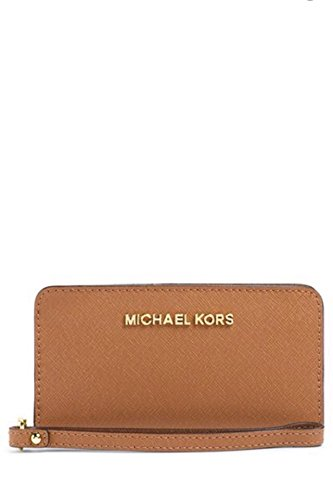 d0d27b92991e Image Unavailable. Image not available for. Color  Michael Kors Jet Set  Large Coin Multi Function Phone Case Luggage