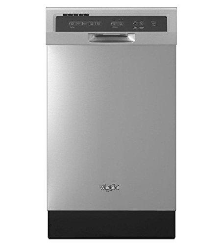 Lavavajillas de Cocina Whirlpool 8 servicios WDF518SAFM de 45 cms en Acero Inoxidabl