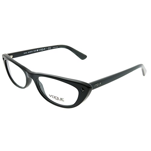 - Gigi Hadid For Vogue Eyewear VO 5236B W44 Black Plastic Cat-Eye Eyeglasses 53mm