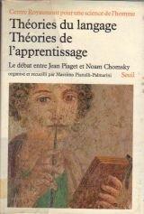 Théories du langage, théories de l'apprentissage par Centre Royaumont pour une science de l'homme