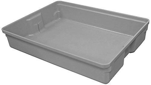 Toteline 9290085136 Medium Nesting Container, Glass Fiber Reinforce Plastic Composite, Gray, Capacity 200 lb, 22