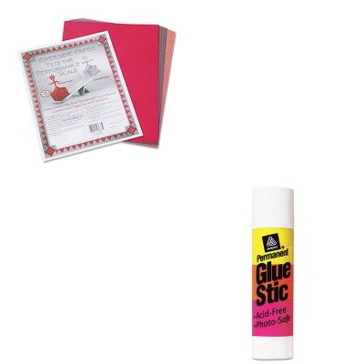KITAVE00166PAC103637 - Value Kit - Avery Permanent Glue Stics (AVE00166) and Pacon Riverside Construction Paper (PAC103637) - Ave00166 Permanent Glue