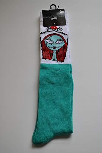 Disney Tim Burton's The Nightmare Before Christmas 25 years Knee Socks SALLY Ladies Shoe size: 4-10