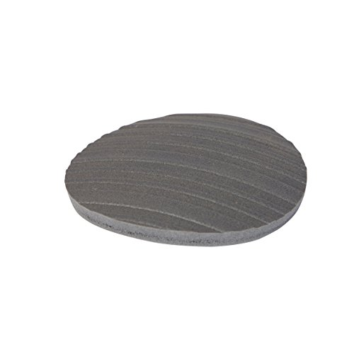 Stay! Furniture Pads, Round Furniture Grippers, Gripper Pads, Furniture Pads for Hardwood Floors and Carpet, Anti-Slip | Round, Gray, Set of 8 (4'') by Stay Furniture Grippers