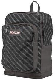 Jansport Trans Megahertz II Backpack – Grey with Stripes