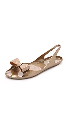Kate Spade New York Women's Odessa Jelly Sandals, Gold, 6 B(M) US