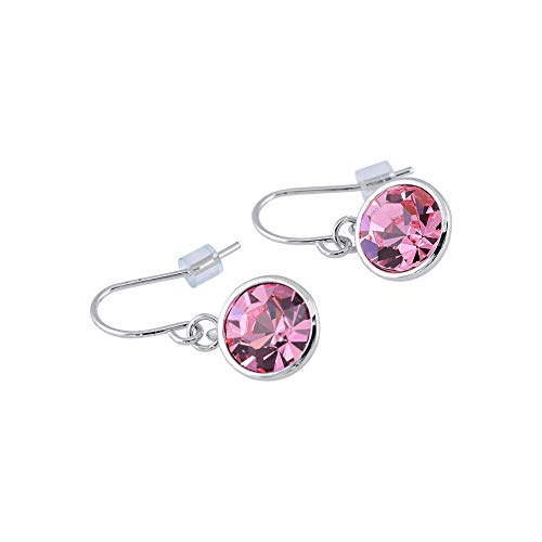 UPSERA Drop Dangle Earrings Made with Swarovski Crystals - Hypoallergenic Jewelry for Women Girls -