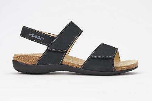 - Mephisto Women's Agave Slingback Sandal,Black Bucksoft,8 M US