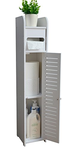 ShengShi Bathroom Cabinet,White by ShengShi