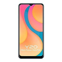Vivo Y20 (Purist Blue, 4GB RAM, 64GB Storage) with No Cost EMI/Additional Exchange Offers
