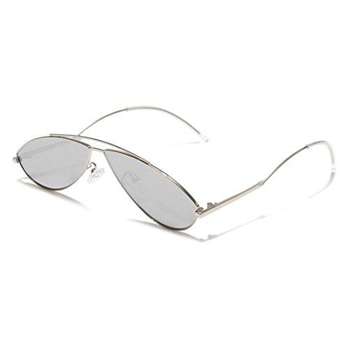 Hombres Sol Pequeña metálica de Las de Caja Que Personalizada de Gafas Gafas GUO la H Sol E qTtPwpTBY