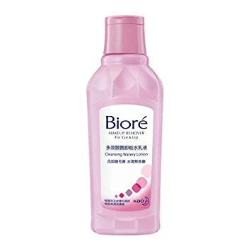 Image Unavailable. Image not available for. Color: Kao Biore Makeup Remover for Eye & Lip ...