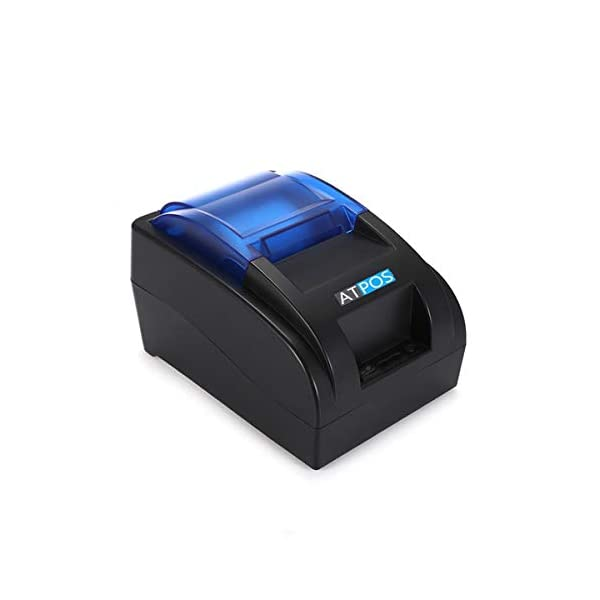 ATPOS BIS Certified 58MM USB H-58 Thermal Receipt Printer, High Speed Printing | Compatible with ESC/POS Print Billing