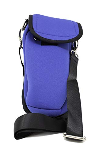 Kanga Pro Hiker - Water Bottle, Cell Phone Holder Universal Beverage & Accessory Carrier 1500 Blue ()