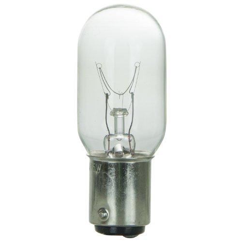 (Sunlite 15T7/CL/DC Incandescent 15-Watt, DC Based, T7 Tubular Bulb, Clear)