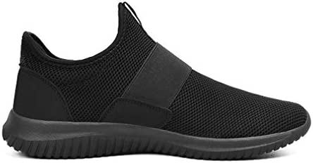 Troadlop Mens Sneakers Slip on Shoes Men Laceless Sport Shoes for Men Knit Breathable Running Walking Athletic Shoes 8