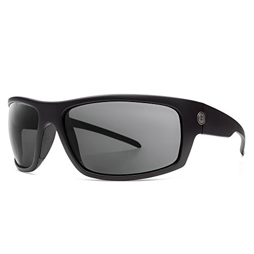 Electric Visual Tech One XLS Matte Black/Polarized Grey Sunglasses by Electric