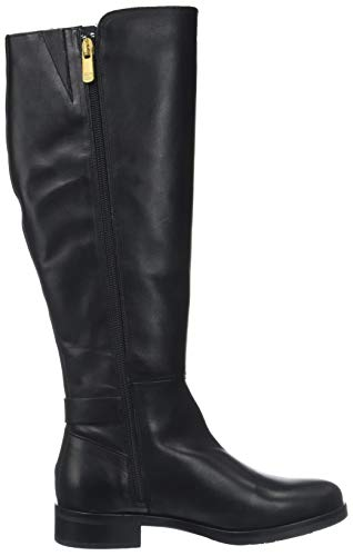 Noir Boot Hautes Hilfiger Th Femme Bottes Black Buckle 990 High Tommy nIw8qxOAgx