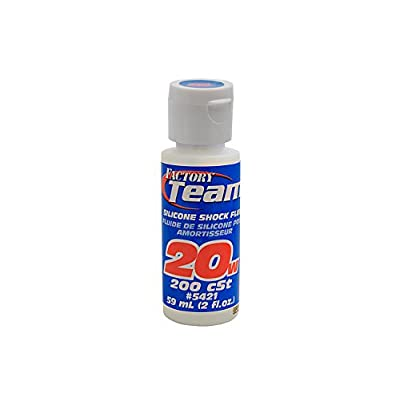 Team Associated 5421 20 Weight Silicone Shock Oil, 2-Ounce: Toys & Games