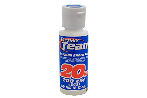 Team Associated 5421 20 Weight Silicone Shock Oil, 2-Ounce