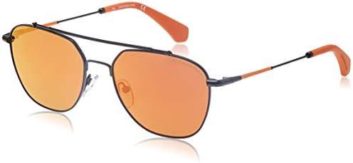 Calvin Klein Aviator Sunglasses For Men Yellow Lens