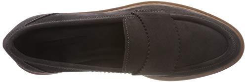 dark Mocasines Gris Esprit Loafer 020 Mujer Grey Para Josette xEwYPqHYS