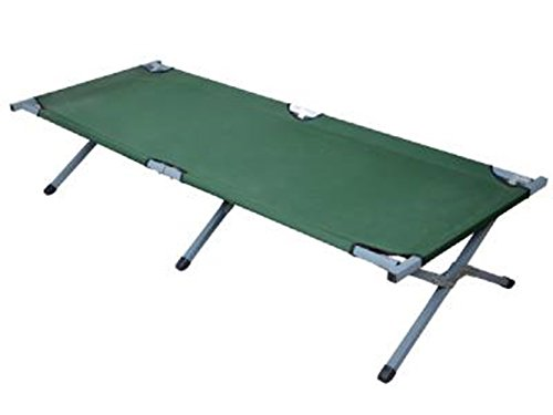 Green Pucker Fish (Bed Folding Perfect for Camping Portable Outdoor Sleeping Deluxe Cot TKT-11)