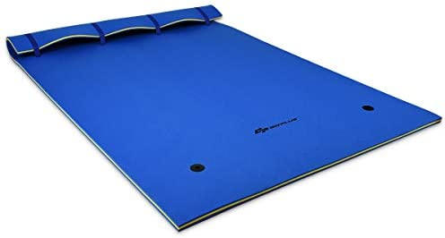 Goplus Floating Water Pad for Water Recreation and Relaxing, Tear-Resistant XPE Foam Floating Mat for Beach, Ocean, Lake