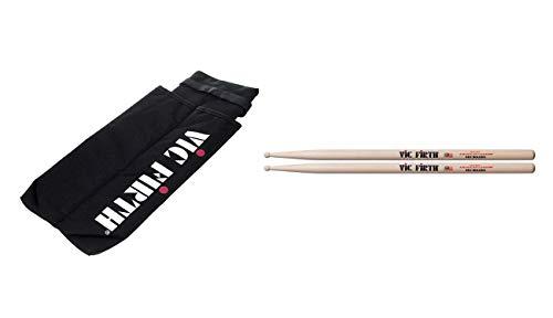 Bolero Bag - Vic Firth Marching Snare Stick Bag with American Custom SD2 Bolero Drumsticks
