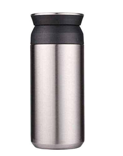 AZZ Leak-Proof Mini Thermos,350 Ml Vacuum Insulated Leak Proof Coffee Travel Mug, Double Walled Stainless Steel Water Bottle BPA Free for Kids/Children/Adults (Color : C)