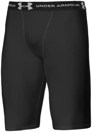 UNDER ARMOUR Youth 7 Compression Short White