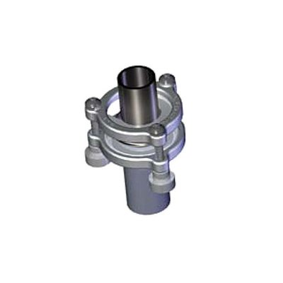 ACE Glass 12187-28 Coupling Clamp, Secures 28/15 Glass Joint to 28/15 Stainless Adapters, 304 Stainless Steel