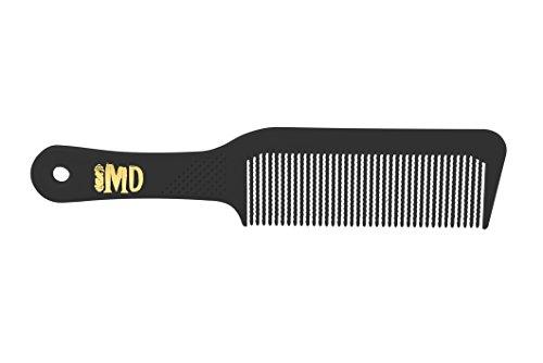 1 Dozen MD Centurion Flat Top Combs (Black) (The Best Comb Over)