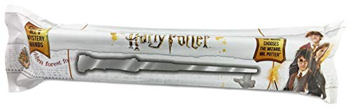 Harry Potter Mystery Wand; Contains 1 of 9 Random Styles for Unboxing, Noble (Ron Weasley Costume Uk)