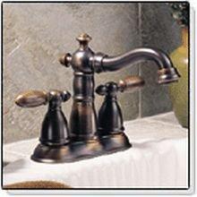 DELTA FAUCET Victorian Lavatory Faucet - Centerset - 2555RB-212RB ...