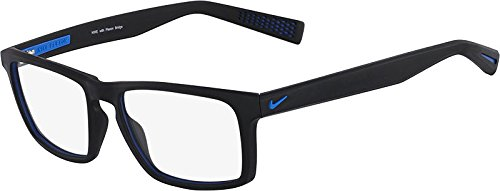 NIKE Eyeglasses 4258 016 Black/Photo Blue - Glasses Nike Prescription