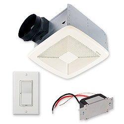 Broan SSQTXE110 SmartSense Ventilation Fan w/ Control, 6'' Ducting (110 CFM)