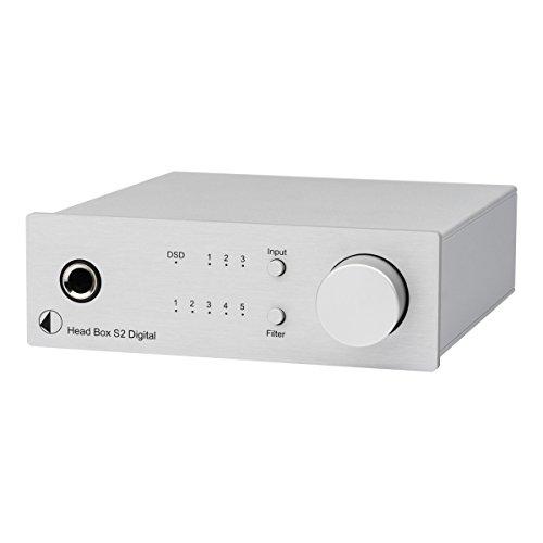 Pro-Ject Head Box S2 Digital Headphone Amplifier DAC - Silver