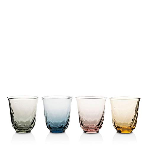 Juliska Vienne Small Tumbler Set of 4 Assorted Colors