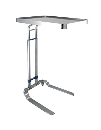 Blickman Benjamin Foot Operated, Stainless Steel Mayo Stand, Model 8867SS (Operated Mayo Stand Foot)