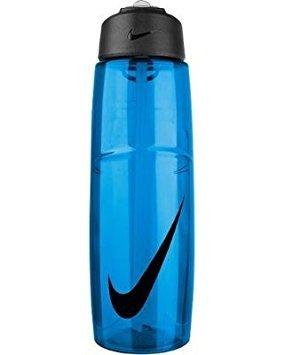 Nike T1 Flow Swoosh Water Bottle 32oz Game Royal/Obsidian