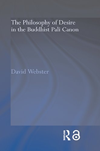 The Philosophy of Desire in the Buddhist Pali Canon (Routledge Critical Studies in Buddhism)