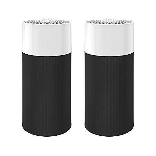 Blue Pure 411 Air Purifier (2 pack) 3 Stage with Two Washable Pre-Filters, Particle, Carbon Filter, Captures Allergens, Odors, Smoke, Mold, Dust, Germs, Pets, Smokers, Small Room