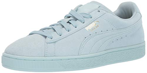 Lightweight Suede Sneakers - PUMA Men's Suede Classic Sneaker Light Sky Team, 9.5 M US
