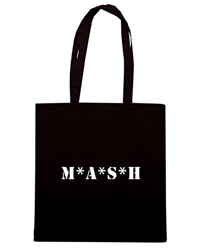 T-Shirtshock - Bolsa para la compra OLDENG00577 mash Negro
