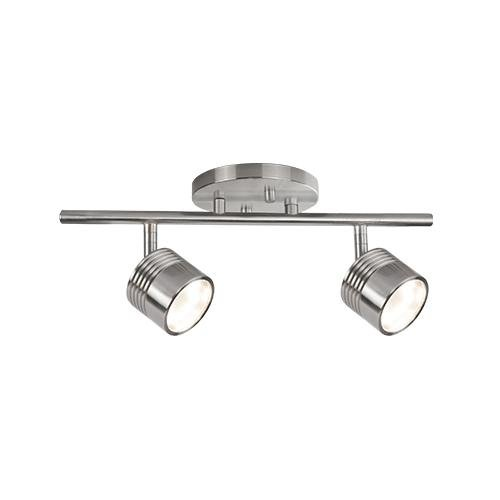 Radionic Hi Tech K_TKL_8874 Monica 4.75'' 1 Light Brushed Nickel Track Light Monica 1 Light Brushed Nickel Track Light
