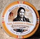 3 Tins Navajo Medicine Of The People Sage Lavender & Orange Enlightening Balm 0.75 oz each, Outstanding Product