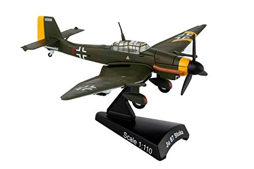 Version Diecast Model - Postage Stamp PS5339-4 Junkers JU 87 Stuka 1:110 Scale Diecast Display Model with Stand