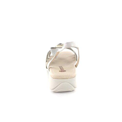 Remonte Sandales R5271 argentées Plata